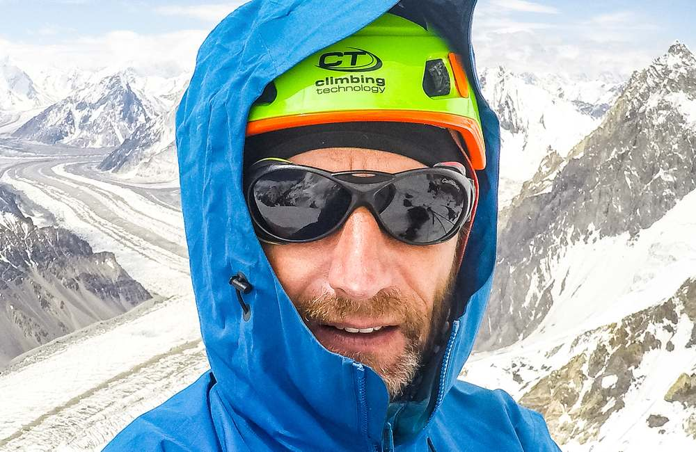 Janusz Gołąb climbing technology