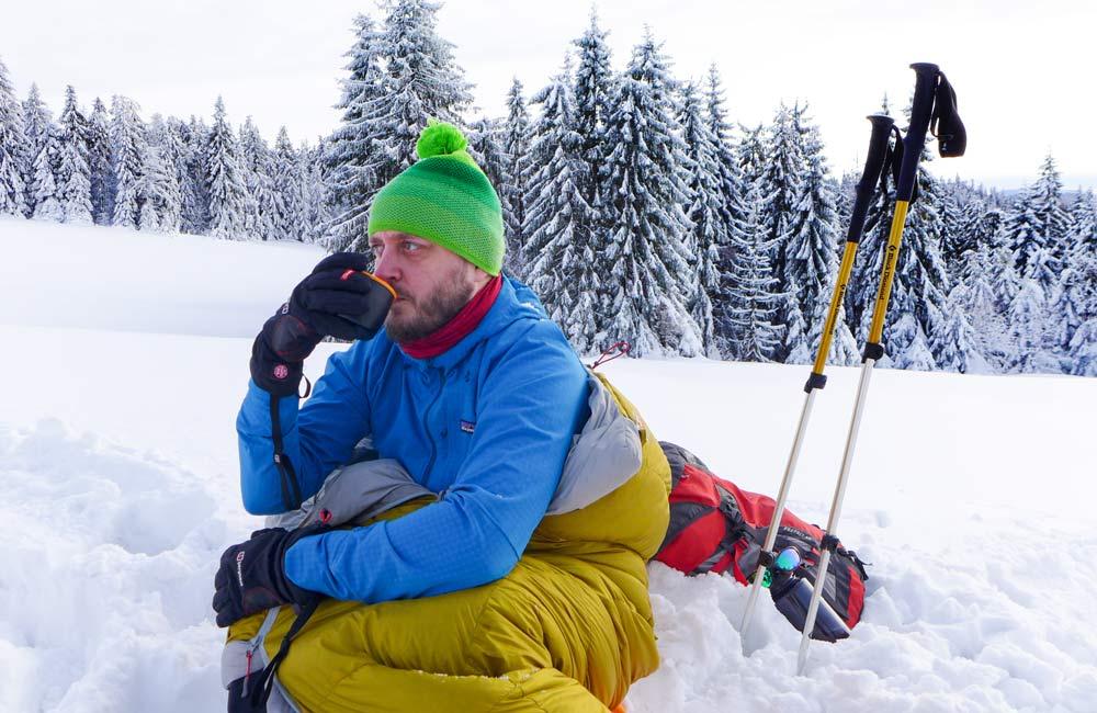 śpiwór na zimowe wycieczki