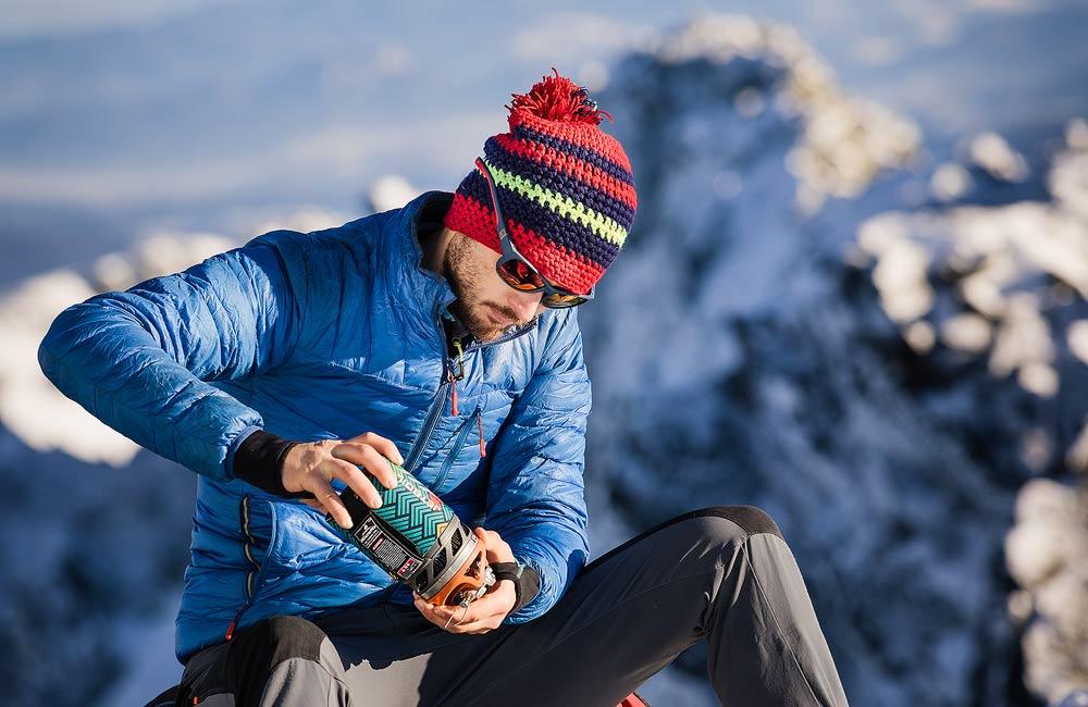 Gotowanie zimą w górach