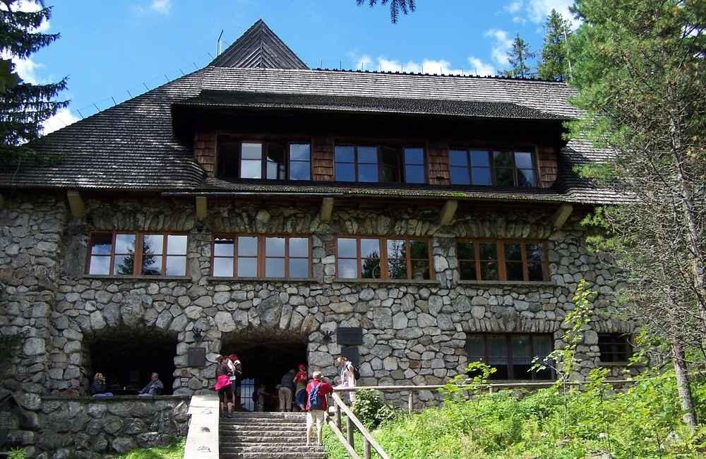 Schroniska w Tatrach Polskich