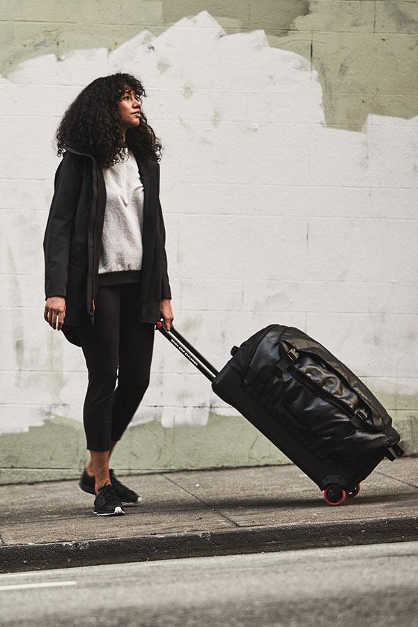 wygodna walizka podróżna