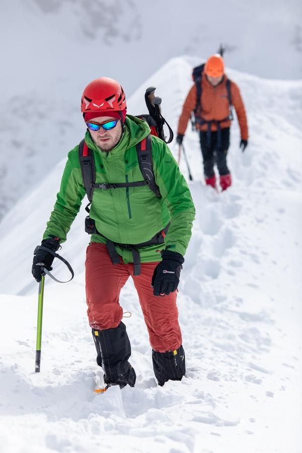 zimowe ubranie na szlak