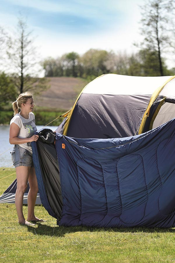 śpiwory do namiotów