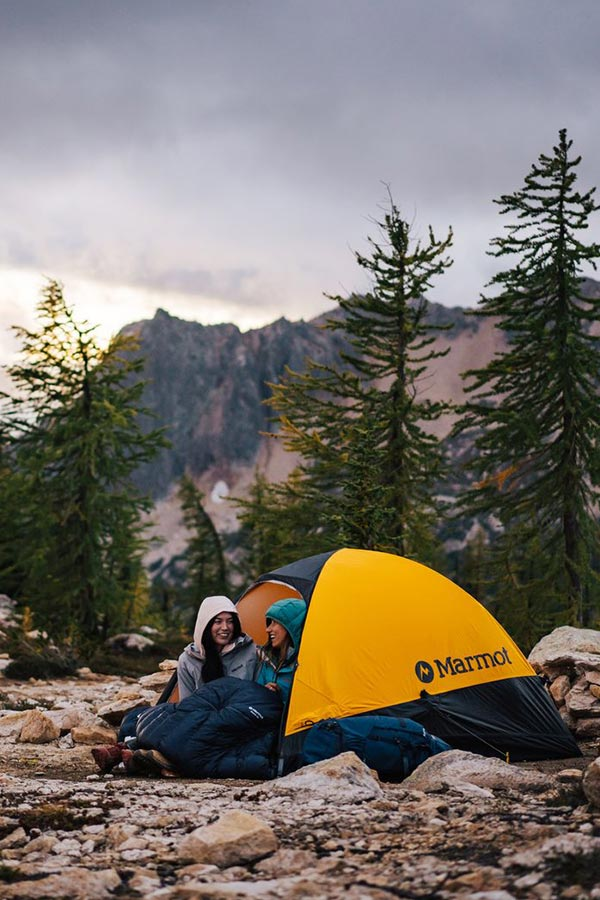 Śpiwory pod namiot