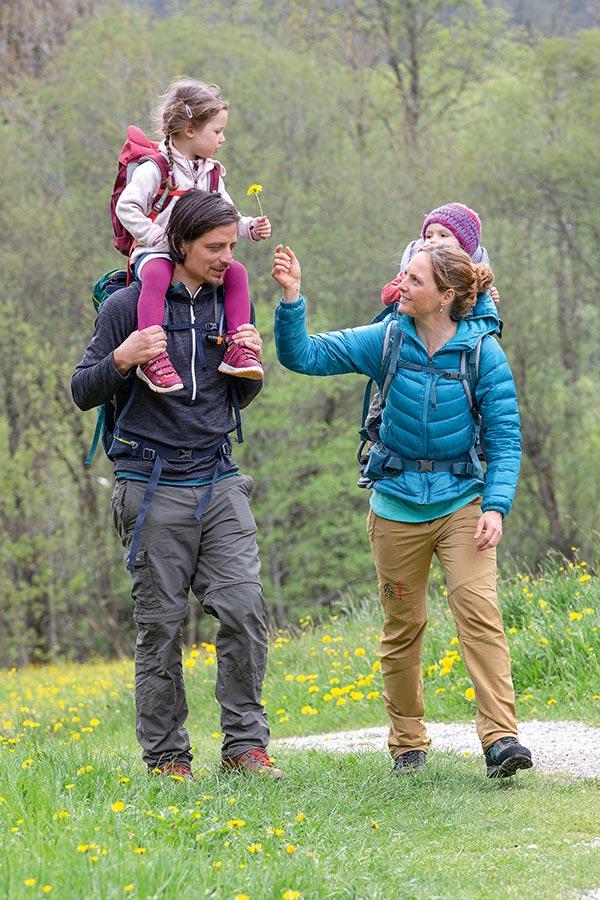 wycieczka w góry z dzieckiem