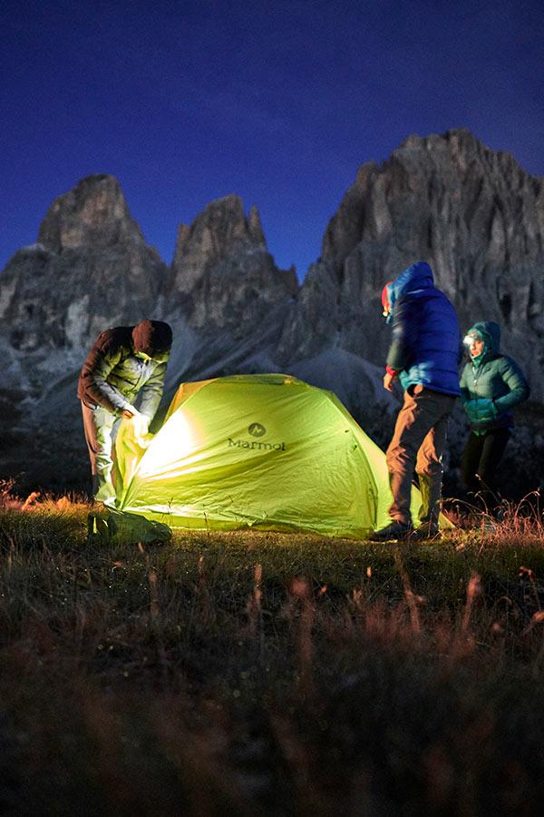 termoaktywna bielizna do spania pod namiotem