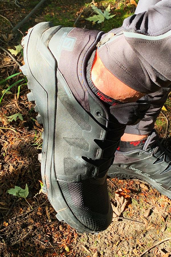 System wiązań w butach Salomon Wildcross GTX