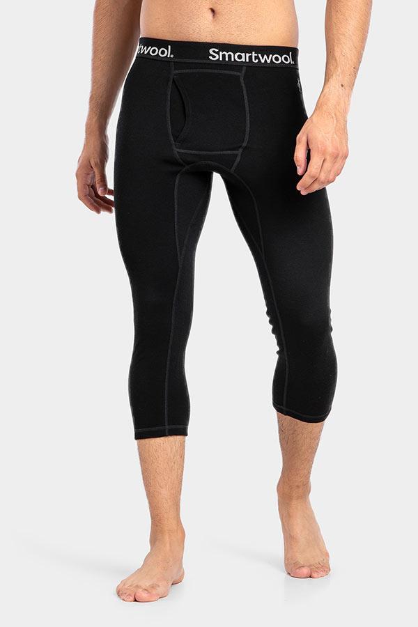 Narciarze docenią krój 3/4 legginsów Smartwool Merino (fot. 8academy)