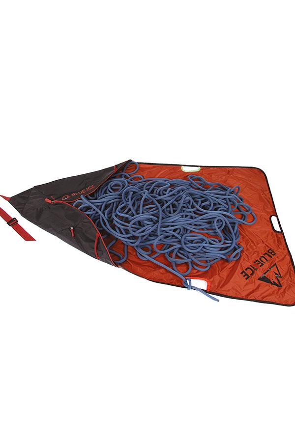 Zintegrowana płachta w torbie Blue Ice Koala będzie odpowiednia także na długą linę