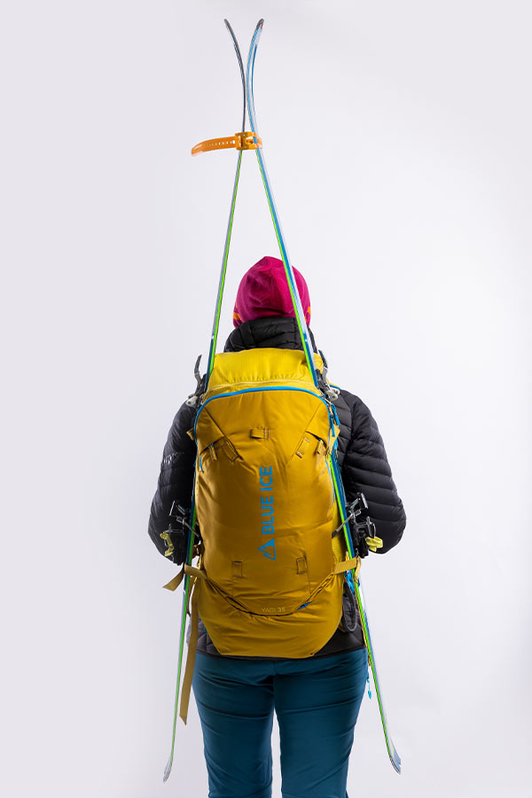 narty troczone do plecaka