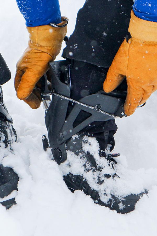 zapinanie butów skiturowych Dalbello Quantum Asolo Factory