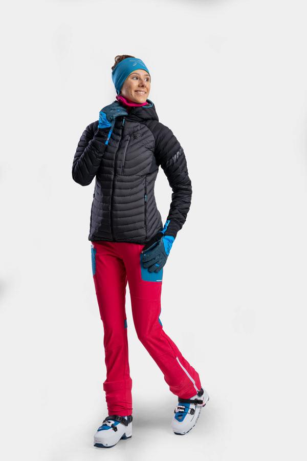 damski strój na narty skiturowe