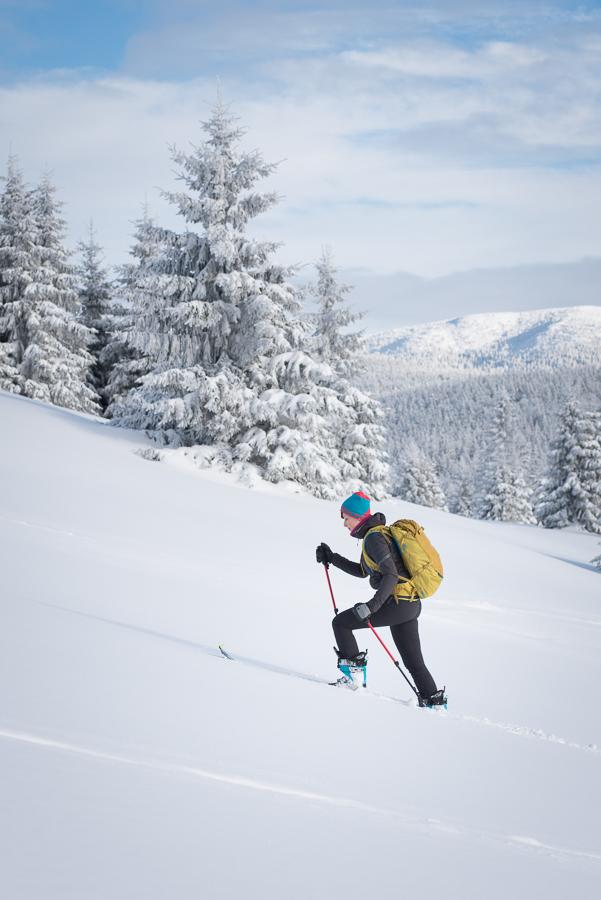 plecak skiturowy Blue Ice