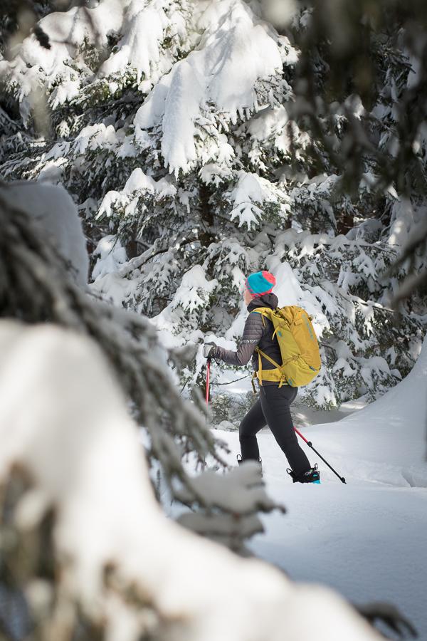 test plecaka skiturowego Blue Ice