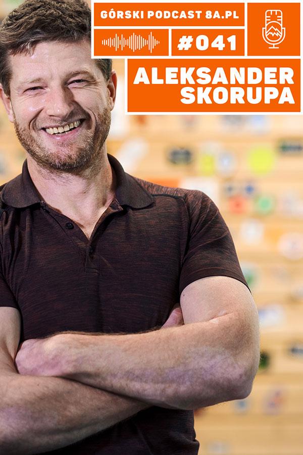 rozciąganie dla wspinaczy - Aleksander Skorupa - podcast 8academy