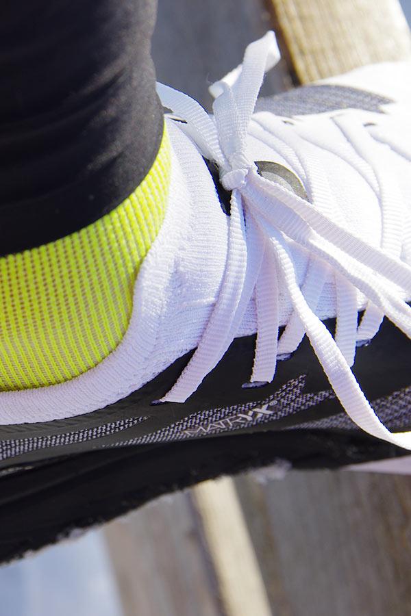 test butów do biegania TNF Vectiv zbliżenie