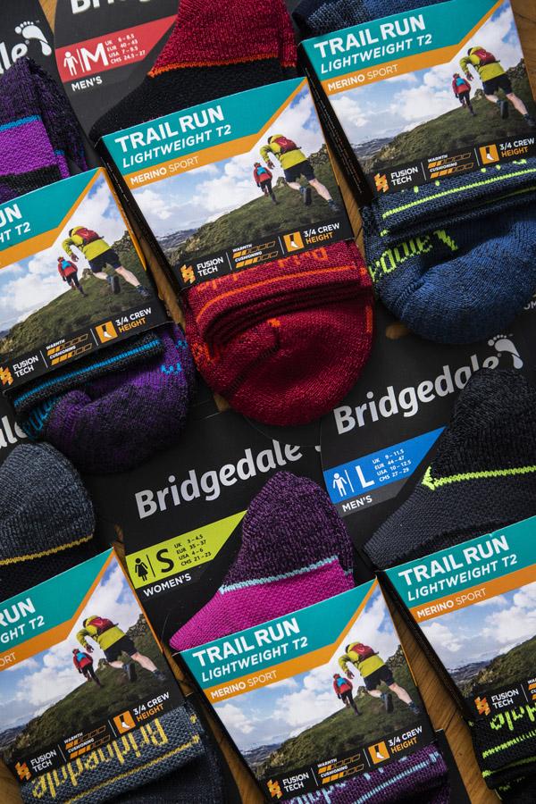 jakie skarpety Bridgedale?
