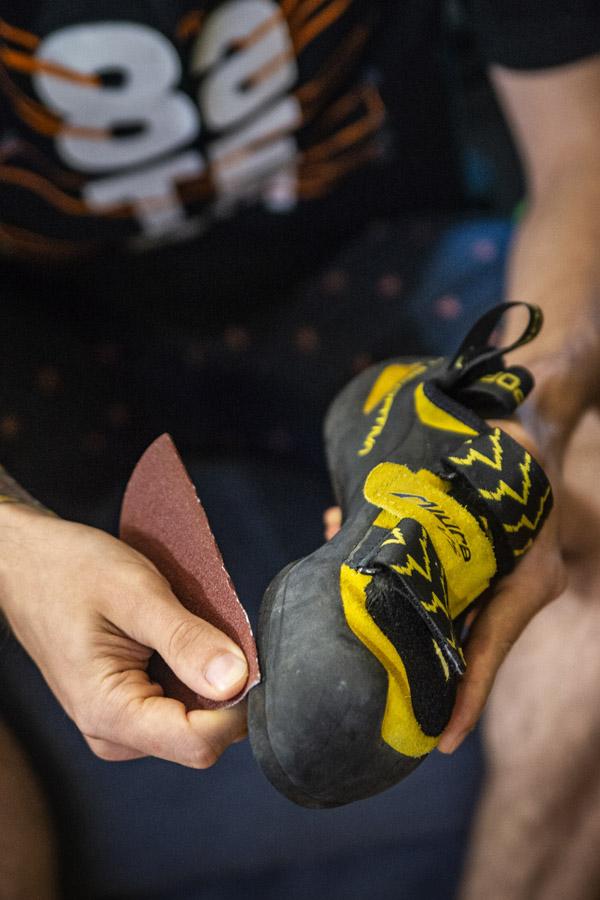 jak dbać o buty wspinaczkowe