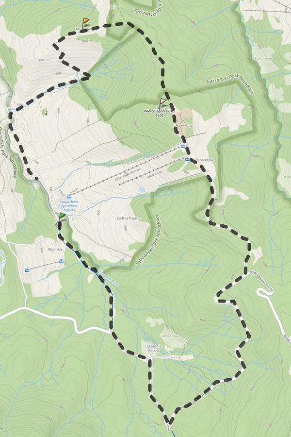 Tatrzańskie szlaki rowerowe