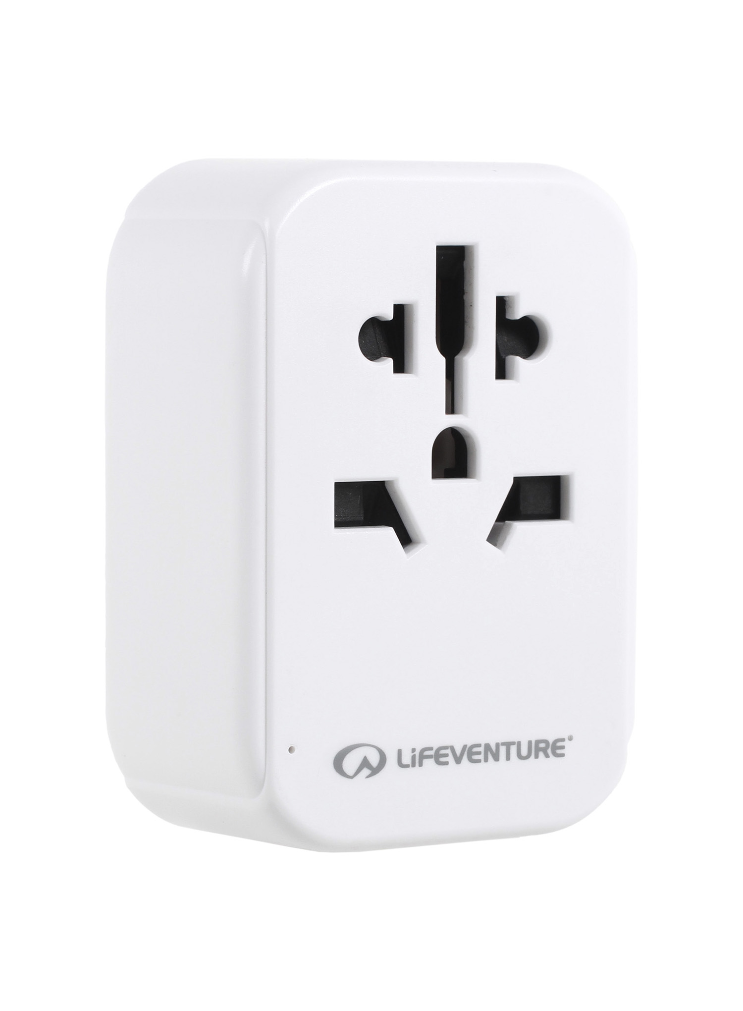 Adapter Lifeventure World to Europe Travel Adaptor with USB (USB C) - zdjęcie nr. 2
