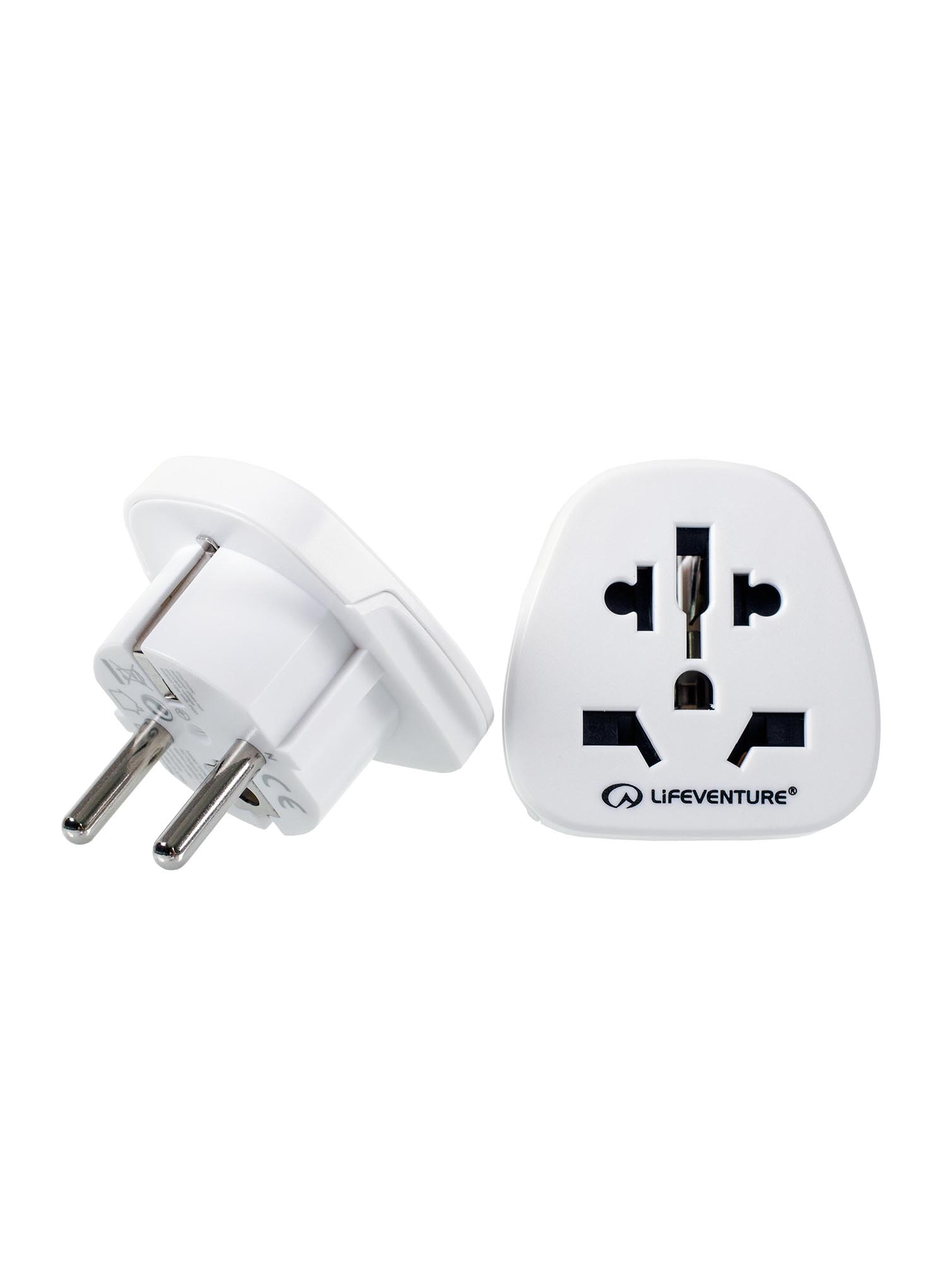 Adapter podróżny Lifeventure World to Europe Travel Adaptor - zdjęcie nr. 2