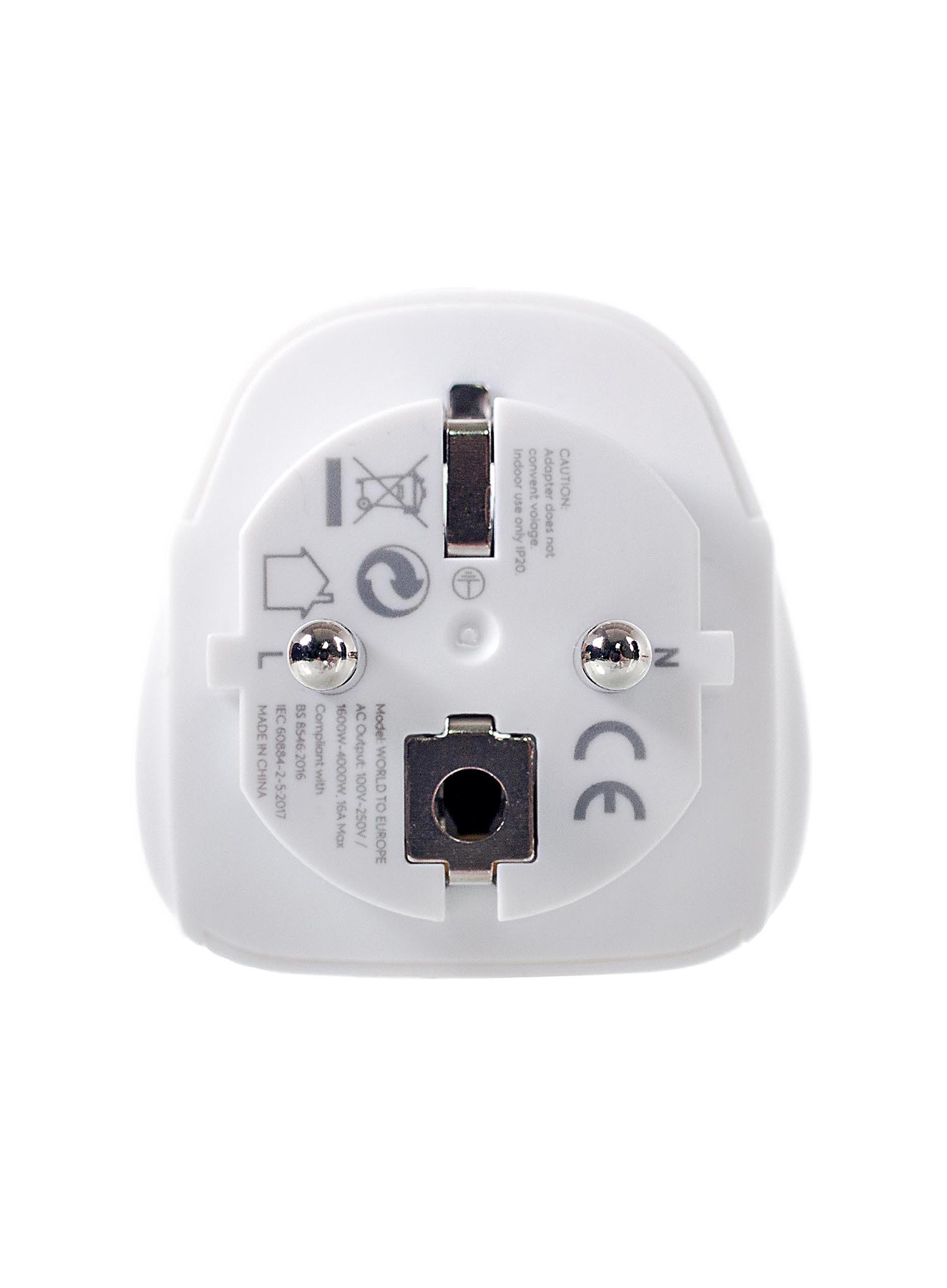Adapter podróżny Lifeventure World to Europe Travel Adaptor - zdjęcie nr. 4