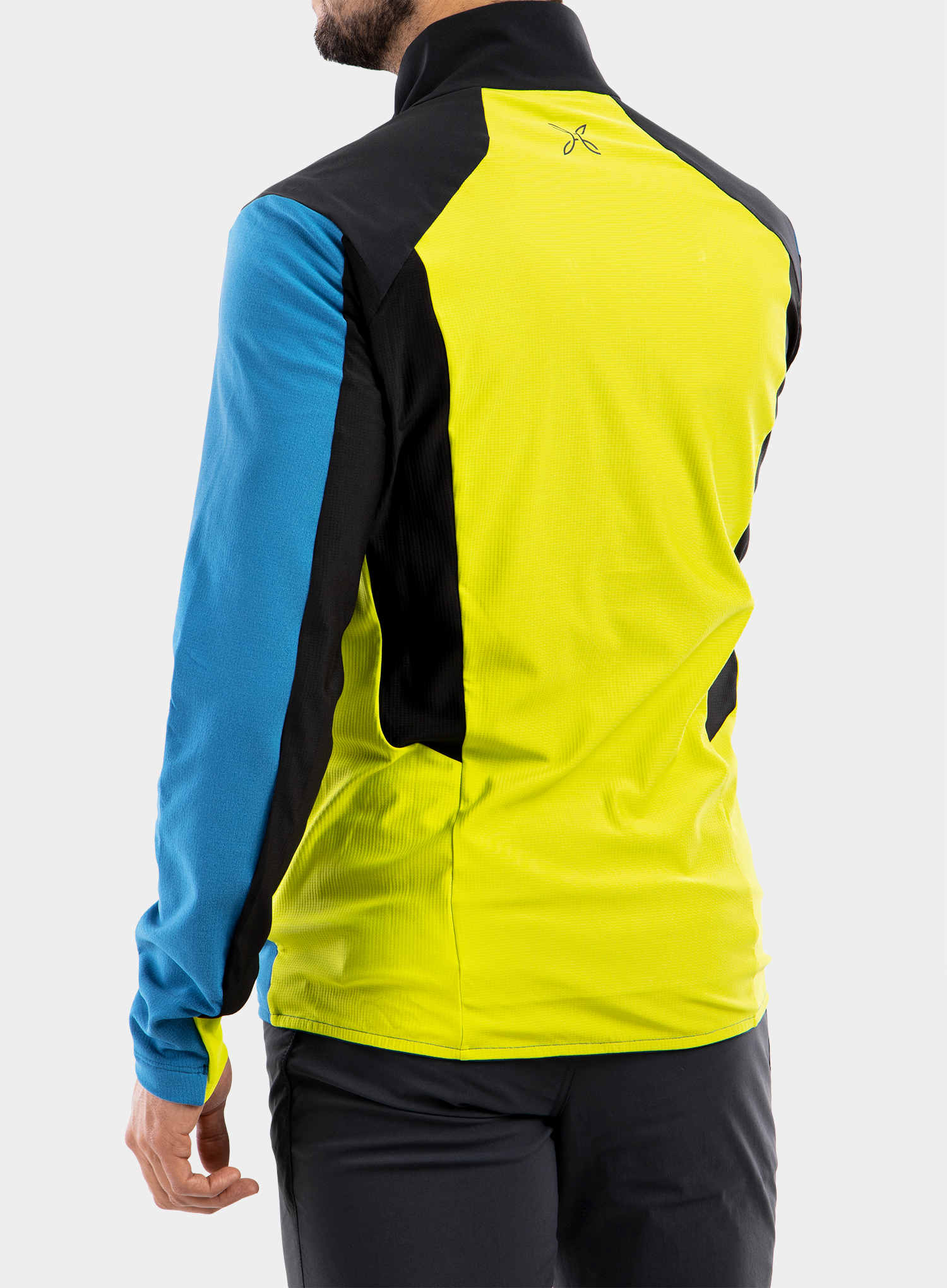 Bluza Montura Stretch Pro 2.0 Jacket - teal blue/lime green - zdjęcie nr. 2