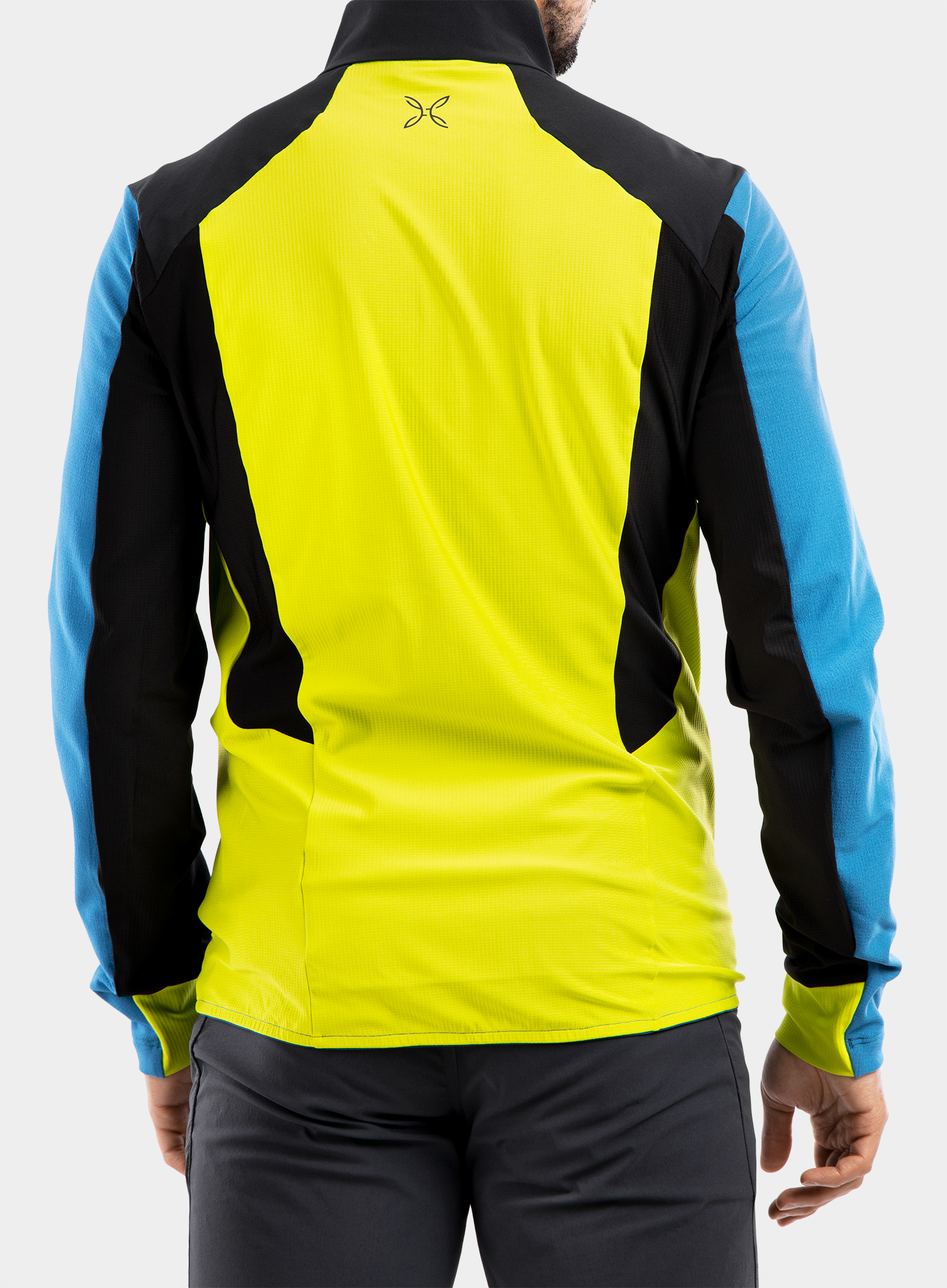 Bluza Montura Stretch Pro 2.0 Jacket - teal blue/lime green - zdjęcie nr. 5