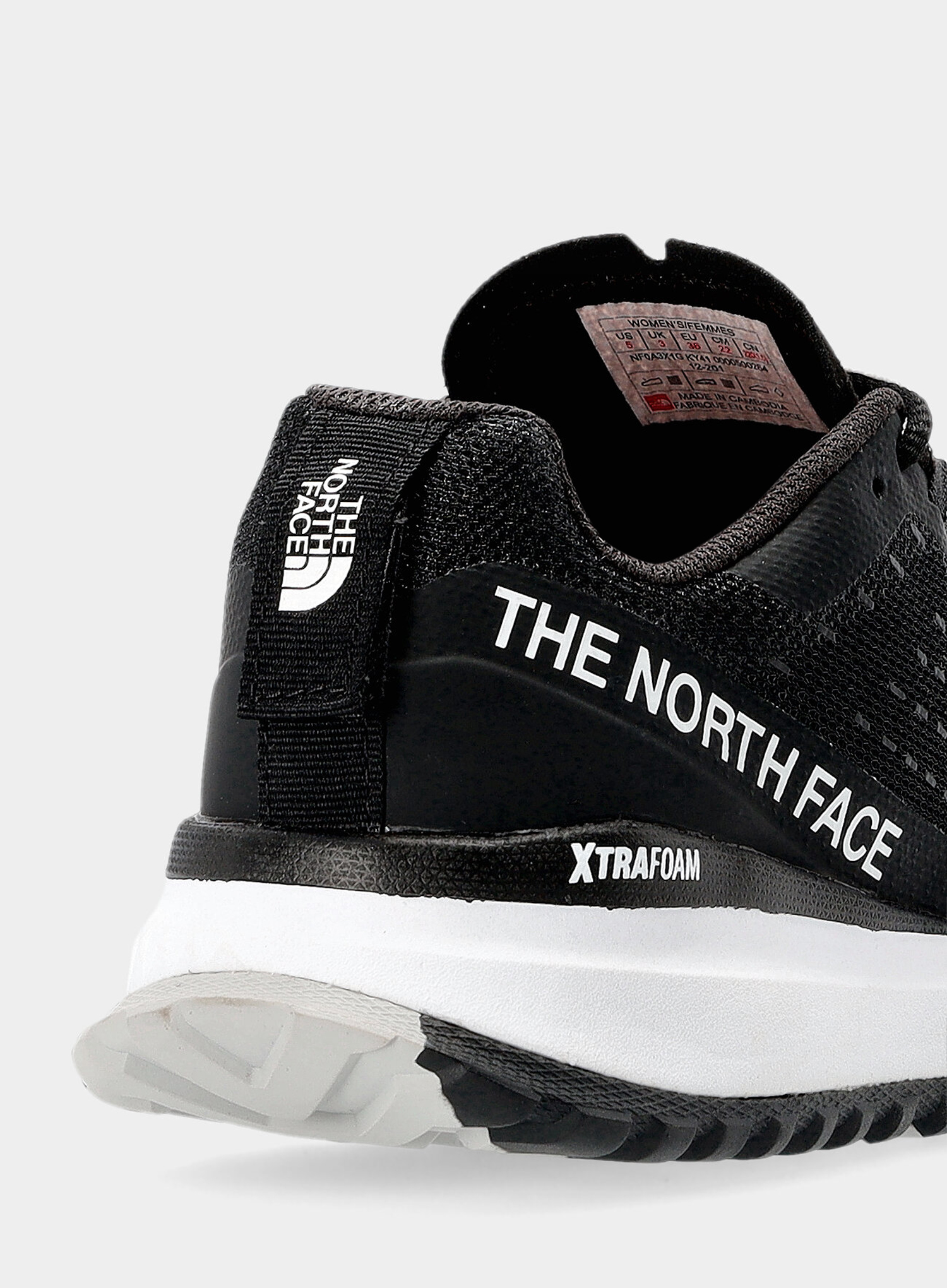 Buty damskie The North Face Ultra Swift - black/white - zdjęcie nr. 10