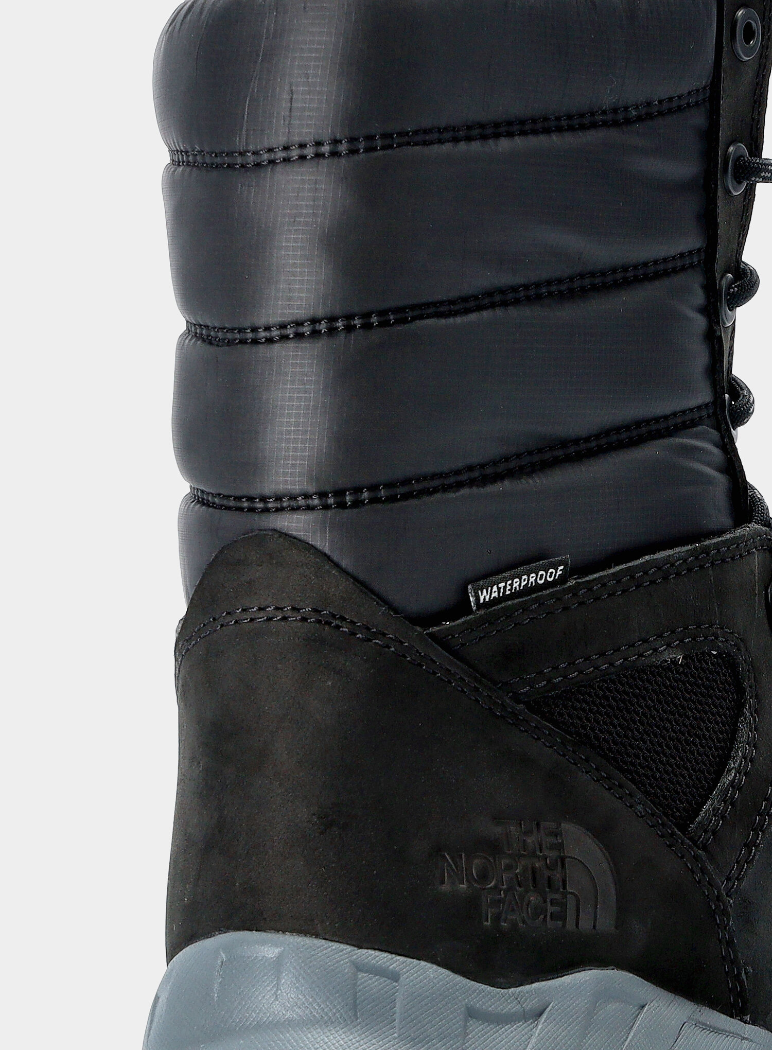 Buty The North Face Thermoball Boot Zip-Up - tnf black/zinc grey - zdjęcie nr. 9