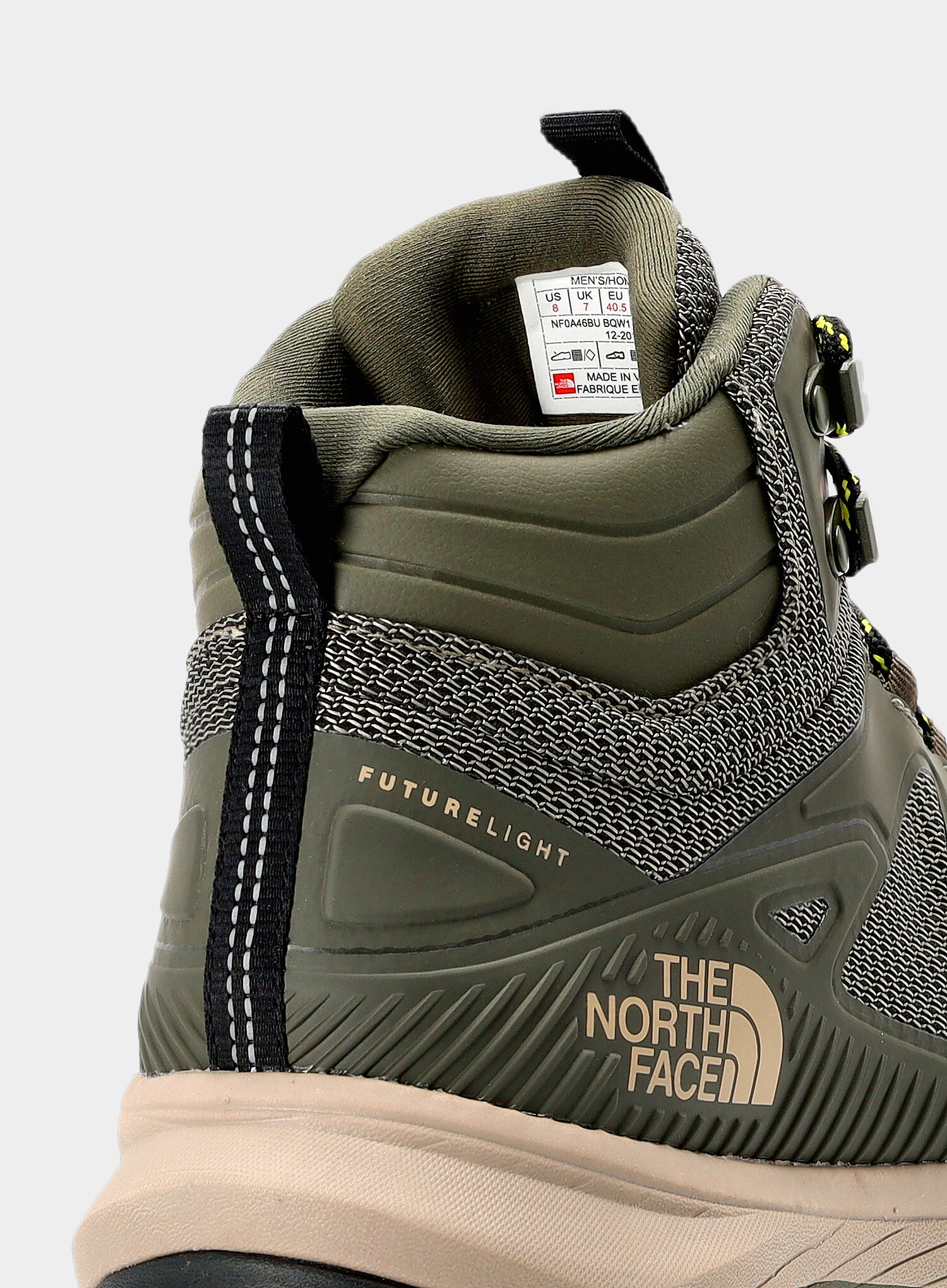 Buty The North Face Ultra Fastpack IV Mid FutureLight - green - zdjęcie nr. 10