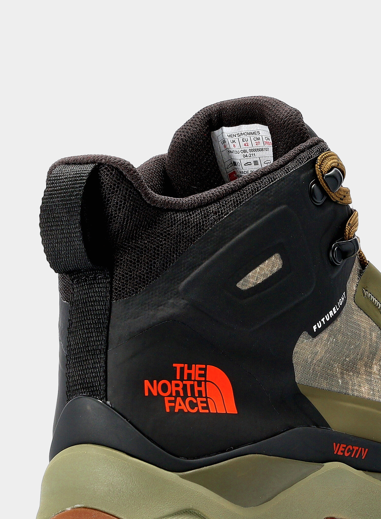 Buty outdoorowe The North Face Vectiv Exploris Mid FUTURELIGHT™ - olive - zdjęcie nr. 7