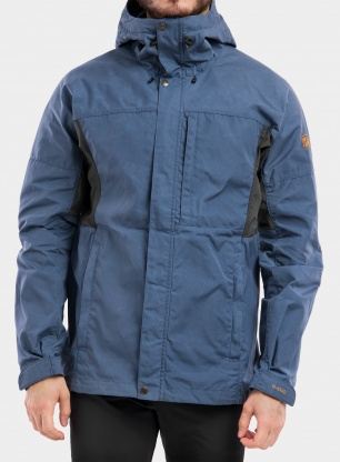 Kurtka trekkingowa Fjallraven Kaipak Jacket - uncle blue
