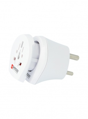 Adapter Skross Combo World to India