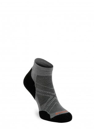 Skarpety biegowe Smartwool PhD Run Light Elite Low Cut - graphite