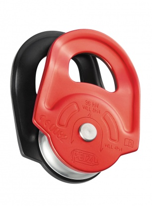 Bloczek Petzl Rescue - red