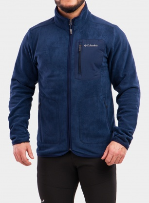 Bluza Columbia Exploration Full Zip Fleece - collegiate navy