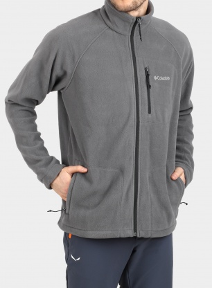 Bluza Columbia Fast Trek II Full Zip Fleece - grey