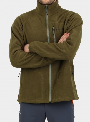 Bluza Columbia Fast Trek II Full Zip Fleece - olive