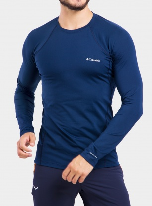 Bluza Columbia Midweight Stretch L/S Top - collegiate navy