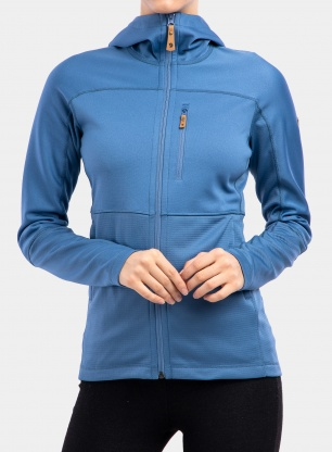 Bluza damska Fjallraven Abisko Trail Fleece - blue ridge