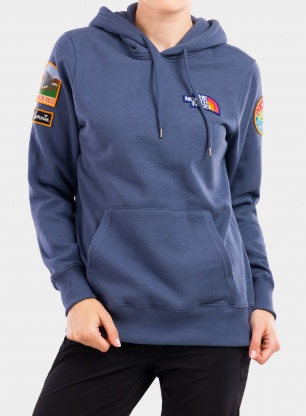 Bluza damska The North Face Novelty Patch Pullover Hoodie - ind.