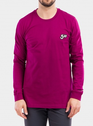 Bluza Five Ten Brand of the Brave LS - power berry