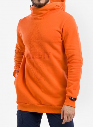 Bluza Majesty Superior tall hoodie - orange
