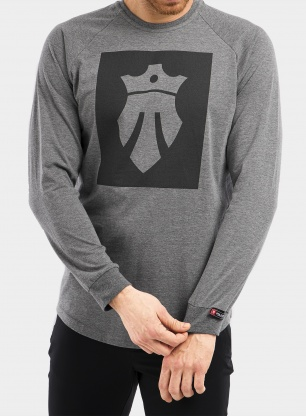 Bluza Majesty Team long sleeve - grey