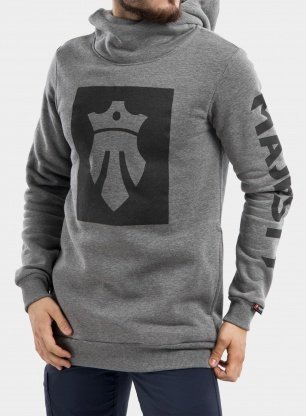 Bluza Majesty Team Tall Hoodie - grey