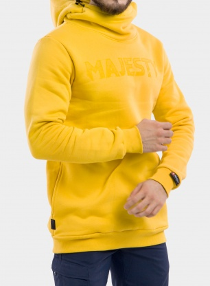 Bluza Majesty Vandal tall hoodie - yellow