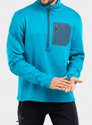 Bluza polarowa Marmot Olden Polartec 1/2 Zip - blue