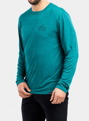 Bluza Patagonia L/S Cap Cool Daily Graphic Shirt - b.green
