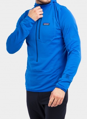 Bluza Patagonia R1 Pullover Hoody - andes blue
